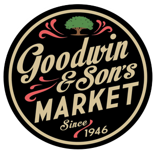 A theme logo of Goodwin's Market